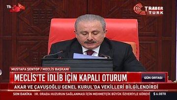Meclis'te İdlib için kapalı oturum