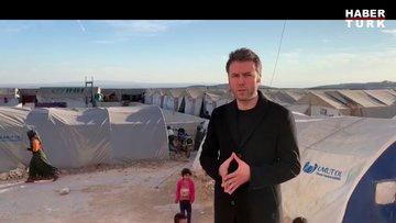 İdlib'de bir kamp ve sosyal tesis