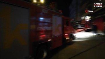 Zonguldak'ta patlayan kombi yangına yol açtı