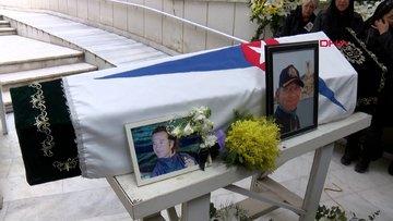 Silivri'de yat yangınında hayatını kaybeden kaptan son yolculuğuna uğurlandı