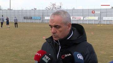 Rıza Çalımbay, bazı futbolcularının Galatasaray ile anılmasını değerlendirdi