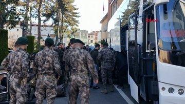Ordu'dan 40 özel harekat polisi, Edirne'ye gitti