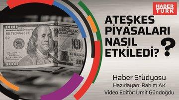 Dolarda son durum ne? Dolar kaç TL'den işlem görüyor? Habertürk finans editorü Rahim AK aktardı