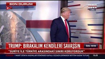 Seçmenleriyle buluşan ABD Başkanı Trump'tan bomba açıklamalar