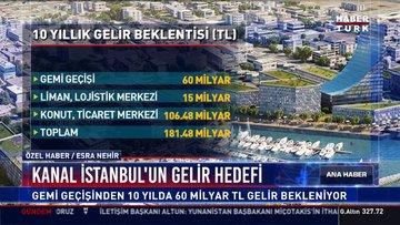 İşte Kanal İstanbul'dan beklenen gelir