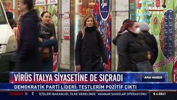 İtalya'da koronavirüs siyasete de sıçradı