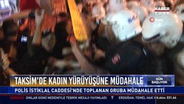 Taksim'de 34 kişi gözaltına alındı