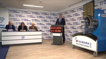 On Numara çekiliş sonuçları 9 Mart  2020 - MPİ On Numara sonuçları