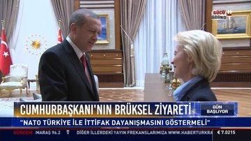 Cumhurbaşkanı'nın Brüksel ziyareti