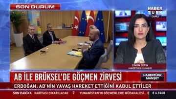 Cumhurbaşkanı Erdoğan'dan Brüksel dönüşü flaş açıklamalar