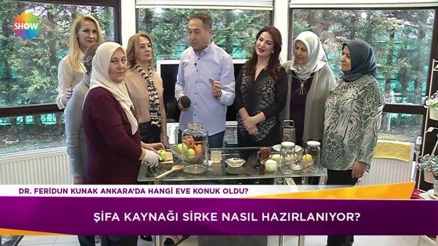 Dr. Feridun Kunak'tan şifa kaynağı sirke!