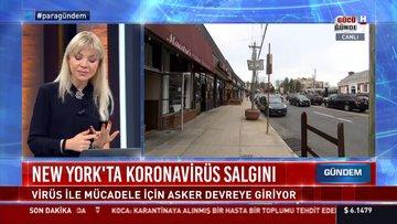 New York'ta koronavirüsü