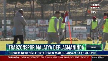 Trabzonspor Malatya deplasmanında