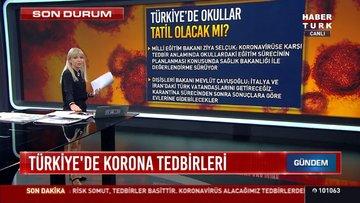 Son dakika: Koronavirüs sebebiyle Türkiye'de okullar tatil edilecek mi?