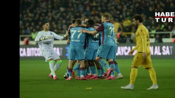 Yeni Malatyaspor: 1 - Trabzonspor: 3 | MAÇ SONUCU