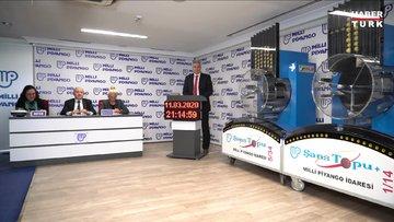 Şans Topu sonuçları 11 Mart 2020 - MPİ Şans Topu çekiliş sonucu