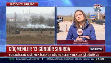Göçmenler 13 gündür sınırda