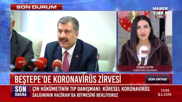 Cumhurbaşkanı Erdoğan bakanlarla koronavirüsü görüşecek
