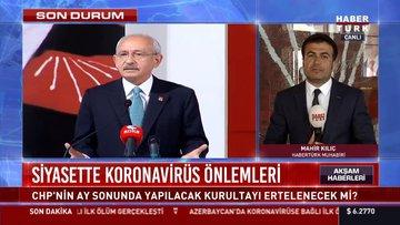 Siyasette koranavirüs önlemleri