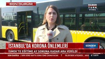 İstanbul'da korona önlemleri