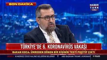 Son dakika: Umre dönüşü bir vatandaşta koronavirüsü tespit edildi! Türkiye'de vaka sayısı 6'ya yükseldi