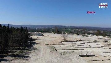 108 yıl sonra 30 şehidin mezarına ulaşıldı (havadan görüntüler)