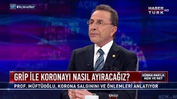 Açık ve Net - 15 Mart 2020 (Grip ile koronayı nasıl ayıracağız? Prof. Dr. Osman Müftüoğlu anlatıyor)