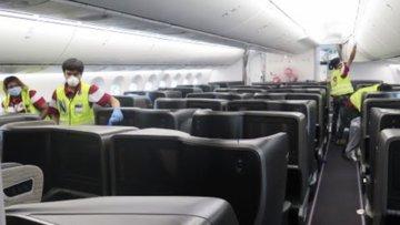 Uçaklara Koronavirüs Temizliği Nasıl Yapılıyor?