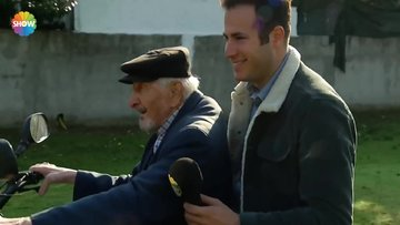110 yaşındaki Mehmet Dede'nin atv eğlencesi!
