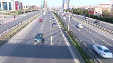 İstanbul trafiğine koronavirüs etkisi