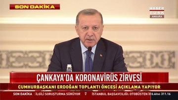 Son dakika haber! Cumhurbaşkanı Erdoğan'dan toplantı öncesi kritik mesajlar