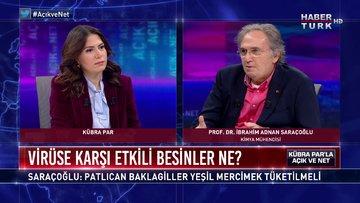 Açık ve Net - 17 Mart 2020 (Koronaya karşı etkili besinler ne? Prof.Dr. İbrahim Saraçoğlu anlatıyor)