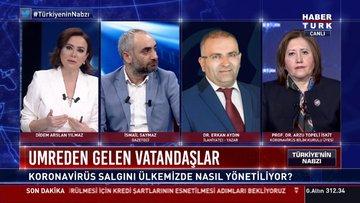 Umrecilere karantina konusunda İsmail Saymaz'ın sorusuna Dr. Erkan Aydın'dan cevaplar