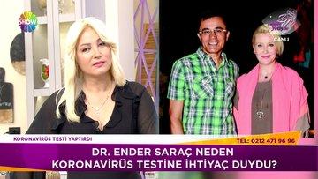 Dr. Ender Saraç, koronavirüs şüphesi nedeniyle hastanede karantinaya alındı!