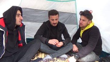 Koronavirüsünden korunmak için yaylada kamp kurdular