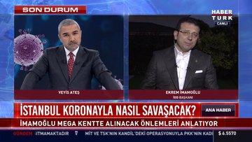 İBB Başkanı İmamoğlu canlı yayında Veyis Ateş'e bağlandı