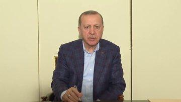 Cumhurbaşkanı Erdoğan: Bu zorlu süreci inşallah hep birlikte atlatacağız