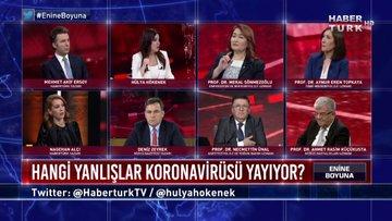 Enine Boyuna - 20 Mart 2020 (Türkiye için kritik eşik ne, hangi yanlışlar koronavirüsü yayıyor?)