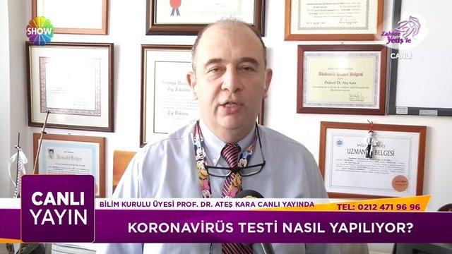 Koronavirüs testi nasıl yapılıyor?