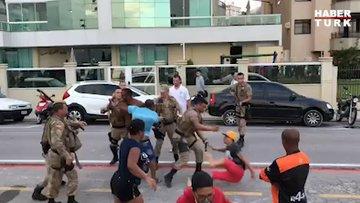 Askerler ABD sokaklarında