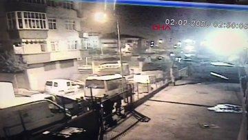 Bayrampaşa'da gürültü tartışmasında 12 yaşında çocuğun vurulma anı kamerada
