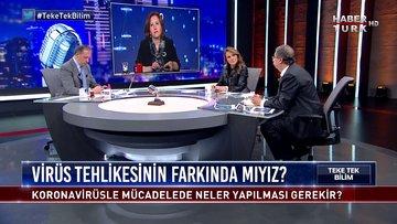 Teke Tek Bilim - 22 Mart 2020 (Koronavirüs salgını... Türkiye'nin vaka artışı ne söylüyor?)