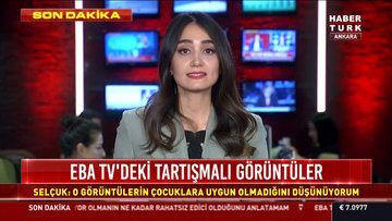 EBA TV'deki tartışmalı görüntüler