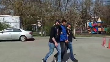Sosyal medyada tepki çeken görüntüler sonrası gözaltına alındı