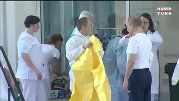 Putin'den koronavirüs hastalarına ziyaret