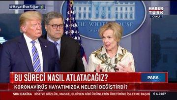 Trump'tan basın toplantısında koronavirüs şakası!
