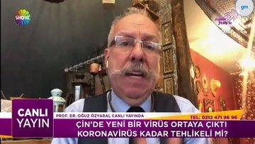 Çin'de çıkan yeni virüs ile ilgili ilk bilgiler!