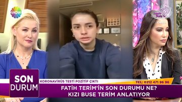 Buse Terim, Fatih Terim'in sağlık durumunu anlattı!