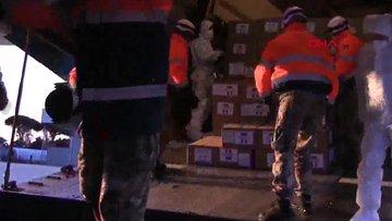 Rusya'nın yardımları İtalya'ya ulaştı
