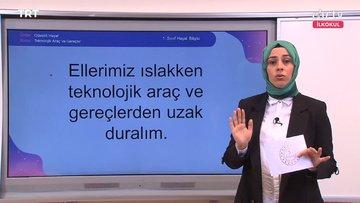 EBA TV 1. Sınıf Hayat Bilgisi Ders Tekrarı 26 Mart